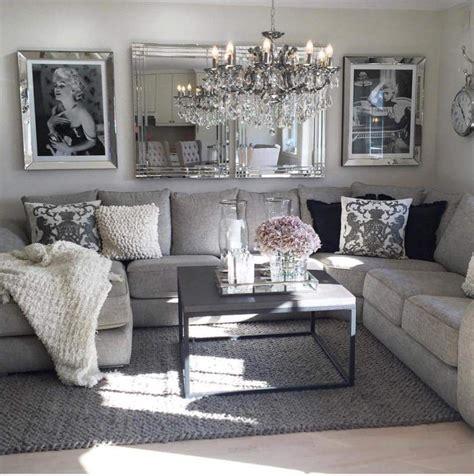 black white grey pink living room glam living room