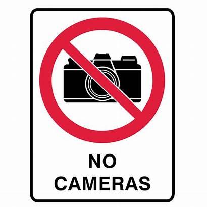 Prohibition Signs Brady Cameras