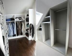 Kleiderschrank Mit Platz Für Fernseher : begehbarer kleiderschrank unter dachschr ge ideen und planungstipps ~ Frokenaadalensverden.com Haus und Dekorationen