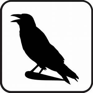 Raven Sign Clip Art at Clker.com - vector clip art online ...