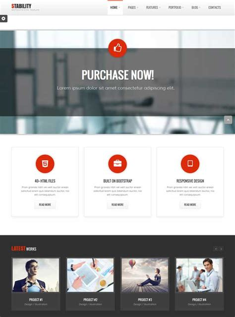 premium website templates  freshdesignweb
