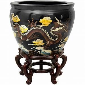 Buy 16 U0026quot  Black Dragons Fishbowl Online  Por