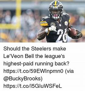 Steelers Should the Steelers Make Le'Veon Bell the League ...