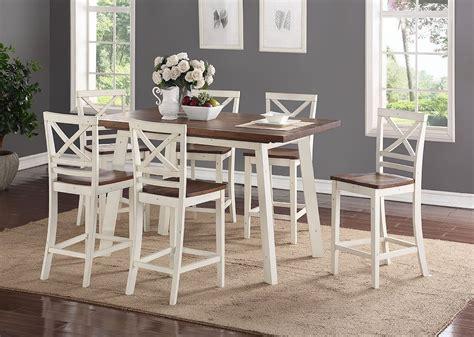 amelia  piece counter height dining set standard furniture furniture cart