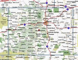 Map of Colorado | MAPS | Pinterest
