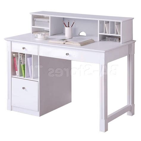 Small White Desks For Bedrooms Best Home Office
