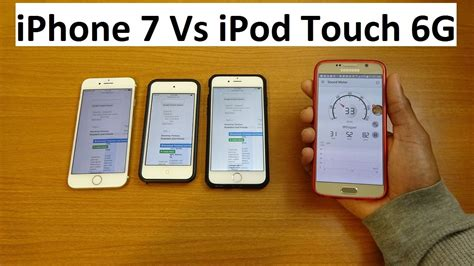 ipod vs iphone iphone 7 vs ipod touch 6g speaker test 1681