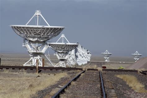 Still Life With Birder: The Very Large Array