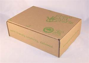 Green Kid Crafts box printed on stock 9x6x2 mailer