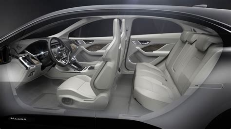jaguar  pace interior design render car body design