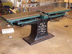 """Hall and Brown 12"""" jointer restoration - Power and Hand"""