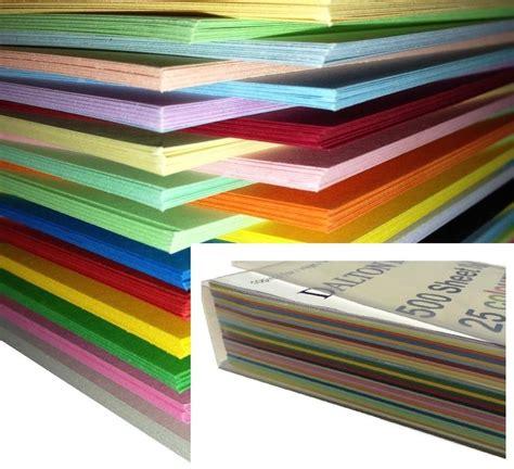 rangement document bureau 250 feuilles papier cartonné carte a4 160gm de
