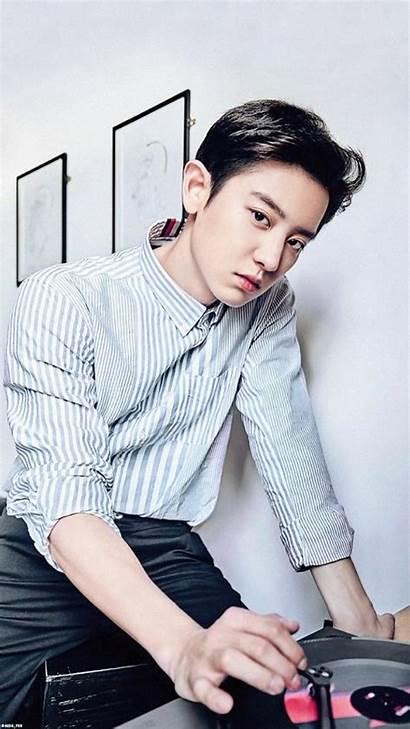 Park Chanyeol Exo Wallpapers Holly Lockscreen Peach