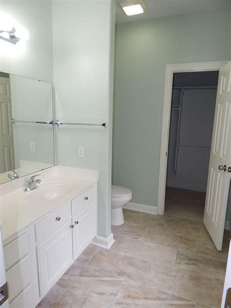 Behr Paint Colors Bathroom by Walls Behr Quot Mild Mint Quot Cabinets Trim Behr Quot Moon Rise