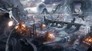 Sci, Fi, Battle, Fighting, War, Art, Artwork, Warrior