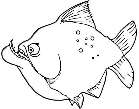 Broodschappers Kleurplaat by Ausmalbilder Ausmalbilder Piranhas Zum Ausdrucken