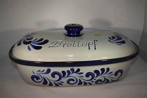Ton Keramik Unterschied : brottopf 40 cm grau blau bembel shop keramik seifert ~ Markanthonyermac.com Haus und Dekorationen