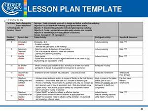 lesson planning original With bloom taxonomy lesson plan template