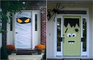 idee deco halloween pour exterieur et interieur chic With idee deco porte d entree