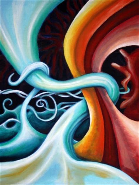 triumph abstract surreal oil painting meylah