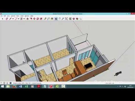 desain rumah modern minimalis kavling  meter taman