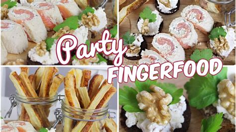 Einfache 🎉party-fingerfood-rezepte🎉 Für Silvester