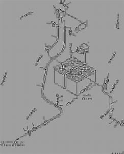 Battery Wiring - Bulldozer Komatsu D39px-21