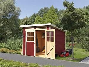 Gerätehaus Mit Pultdach : karibu locarno 3 set pultdach gartenhaus inkl boden und 2 ~ Michelbontemps.com Haus und Dekorationen