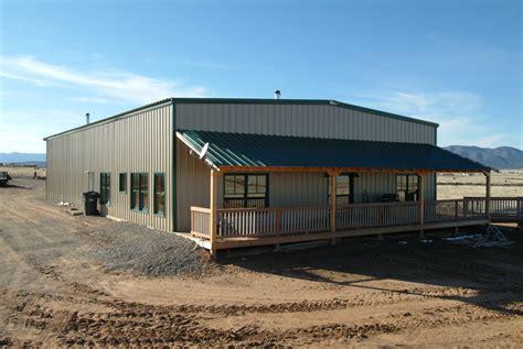 Metal Building Home Hangars