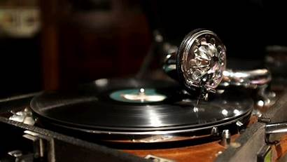 Record Player Cinemagraph Gifs Phonograph Animated Turntable