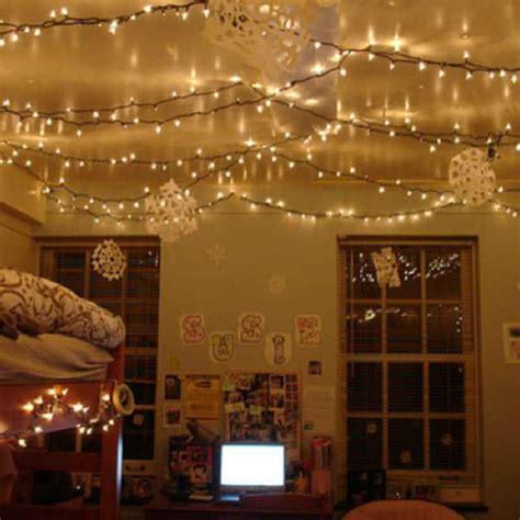 inspiring ideas  christmas lights   bedroom