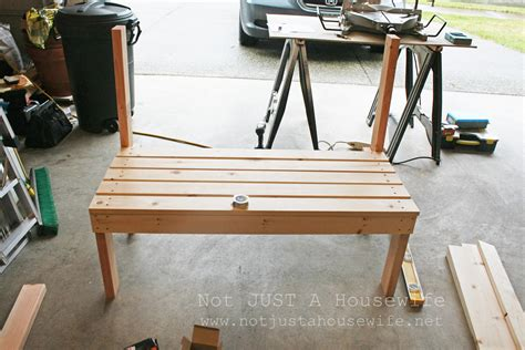 how to build a bench decorating someone else s house part 3 building an