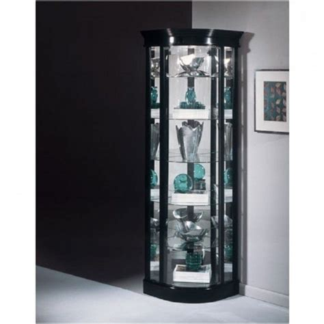 glass cabinet with lights glass curio cabinets with lights wall mounted glass
