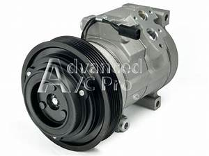 New Ac A  C Compressor Fits  2003 2004 2005 2006 2007 Honda Accord V6 3 0l Only