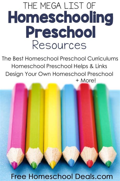 list of free homeschool curriculum resources