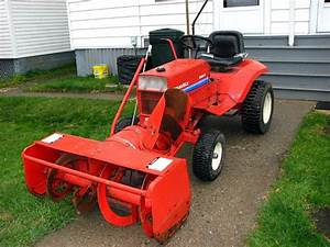 Gravely 8163 With 48 U0026quot  Snow Cannon