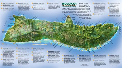Large Molokai Maps For Free Download And Print High