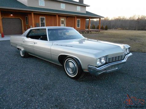1972 Buick Electra 225 For Sale by 1972 Buick Electra 225 Hardtop Amazing 1 Own Big Block