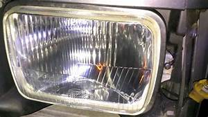 89 Cherokee H4 Headlight Conversion