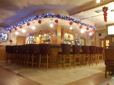 the bar of the cross square hotel with christmas