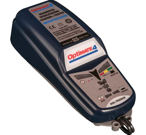 Sterling Marine Battery Charger Uk by Optimate 4 Dual Program Can Bus Compatible 12v Motorbike