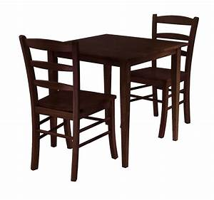 Groveland 3pc Square Dining Table with 2 Chairs OJCommerce