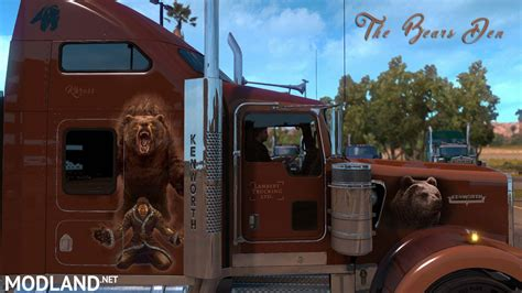 bears den khross custom skin kenworth  mod
