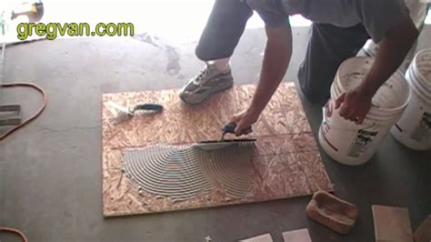 learn   apply ceramic tile adhesive youtube