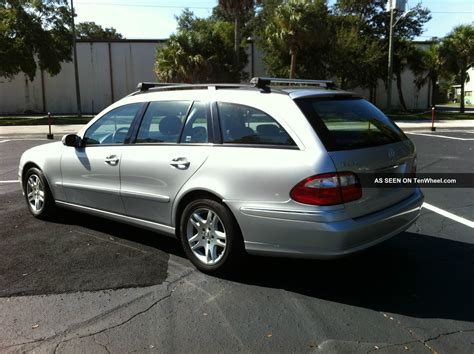 Does anyone know when the 2004 e320 wagon is supposed to hit the shores of north america? 2004 Mercedes - Benz E320 Base Wagon 4 - Door 3. 2l