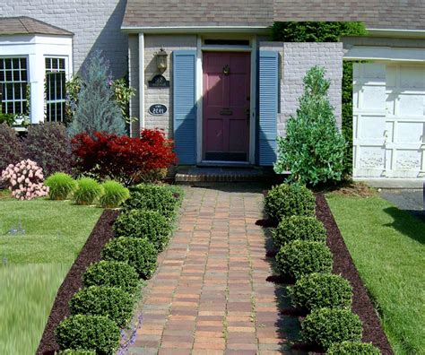Front Yard Designs Urban — Home Ideas Collection Simple
