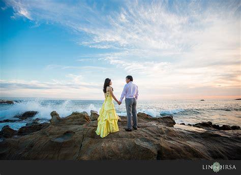 laguna beach engagement shaoqian  yuxia