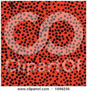 Seamless Pink Leopard Print Background Pattern 1 Posters