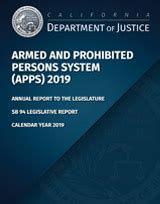publications state  california department  justice