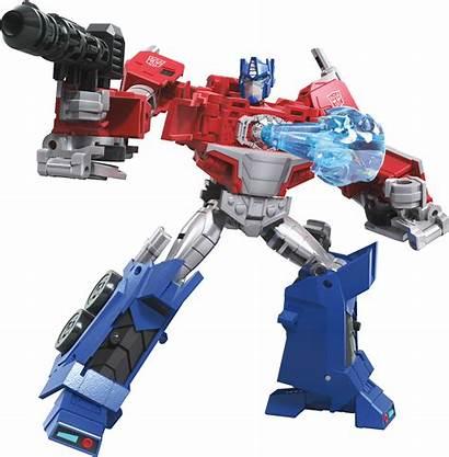 Transformers Cyberverse Prime Optimus Deluxe Class Adventures